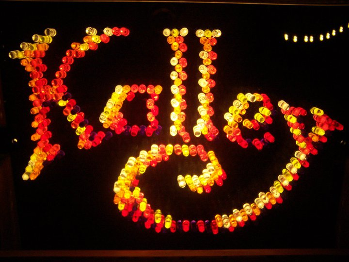 kalley in lite brite